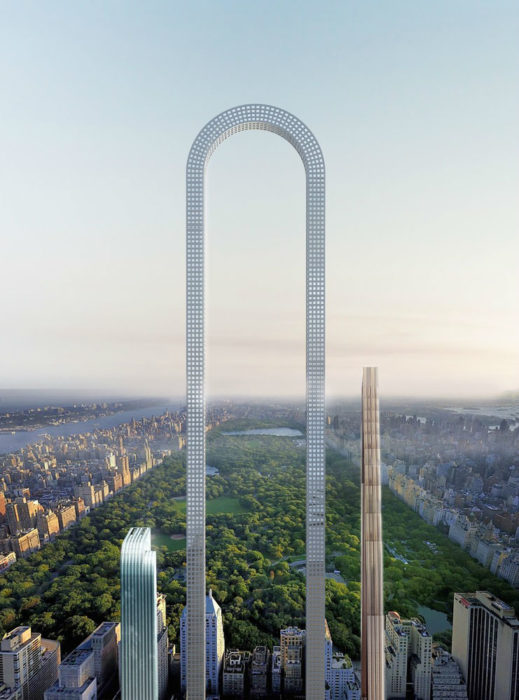 "Long is the New Tall? Oiio Reveals Proposal for the World's ""Longest Building"" in New York"