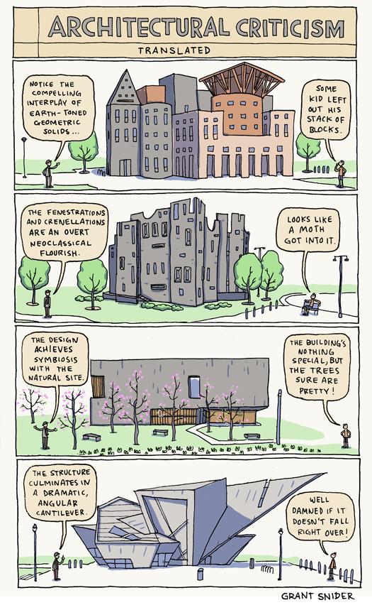 المبادئ السبع للنقد المعماري