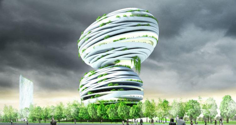 Floral Solar Tree