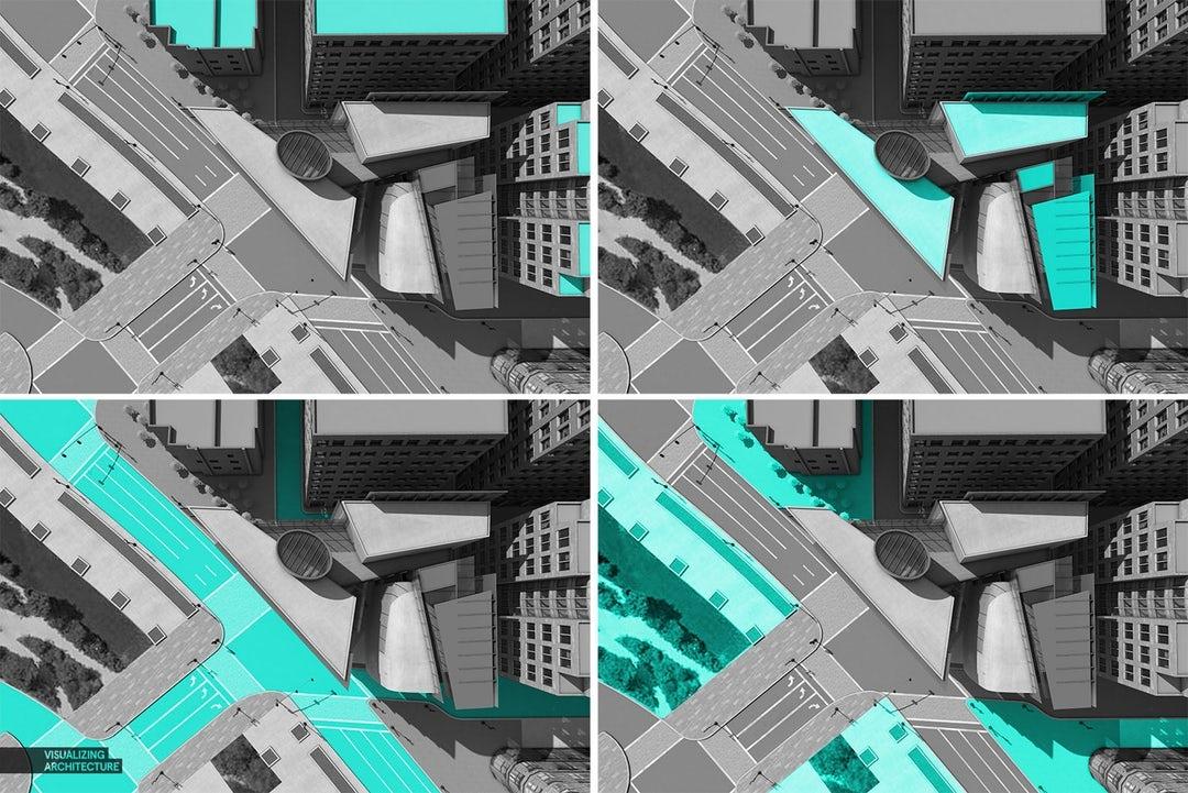 1فن الرندر : كيفية إضافة قوام واقعية إلى التصورات المعمارية الخاصة بك في الفوتوشوب