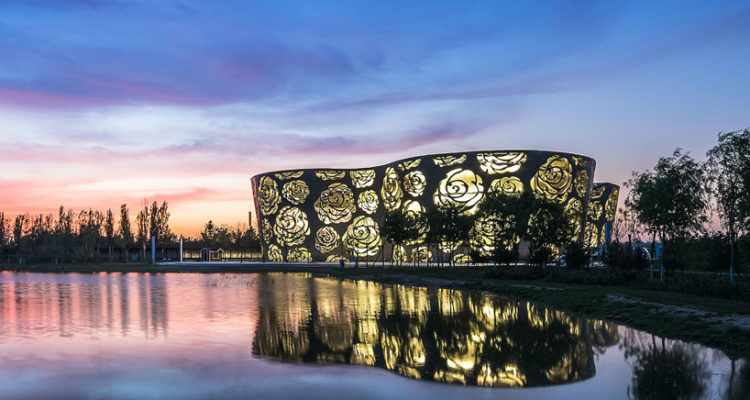 NEXT Architects Reveals A Bouquet of Roses in China