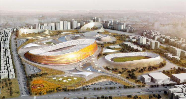 Ethiopian National Stadium + Sports Village - LAVA+JDAW