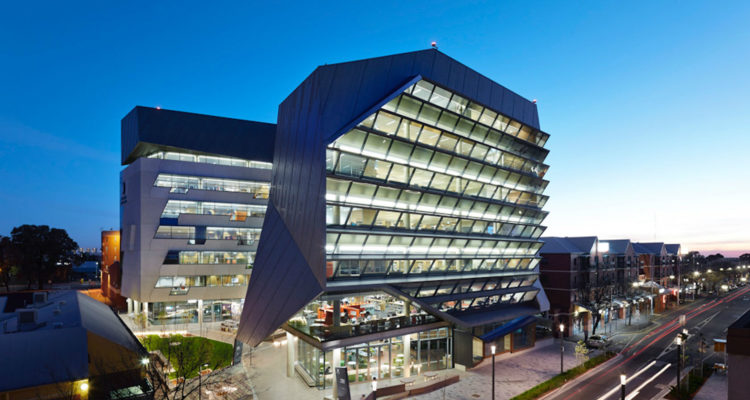 Jeffrey Smart Building, University of South Australia - John Wardle Architects