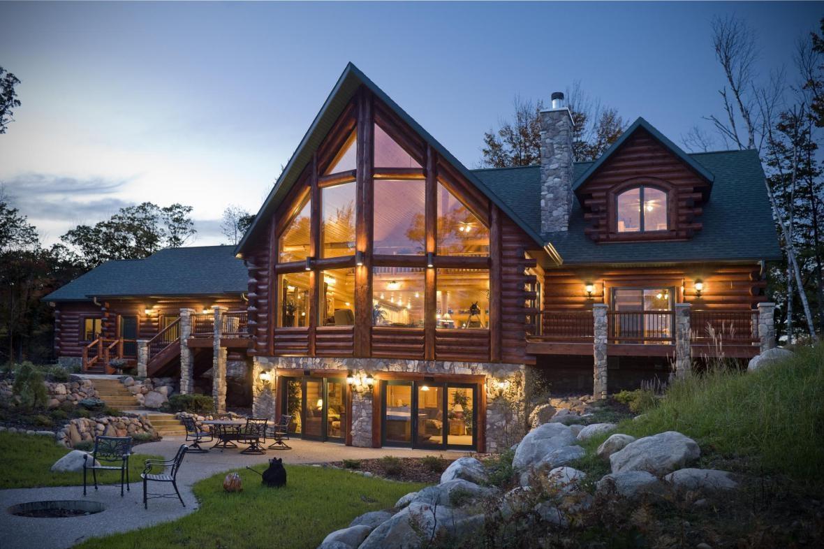 عمارة البيوت و المنازل الخشبية