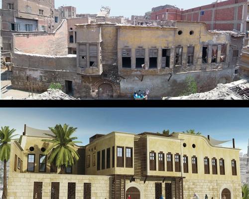 إعادة تأهيل منزل قديم بالقاهرة لخدمة المجتمع