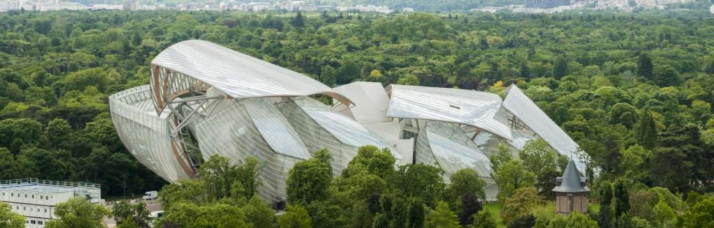 مؤسسة لويس فويتون، تحفة معمارية في باريس
