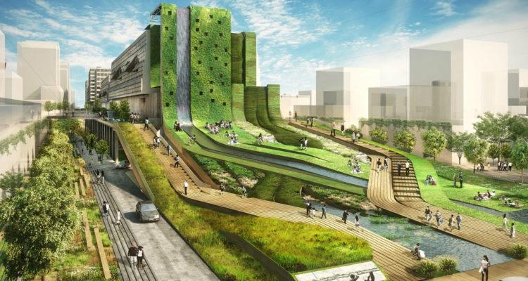 مدية المشي سيون - تجنب العمارة واضحة