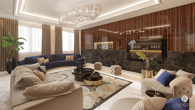 Modern home interior design in Dubai